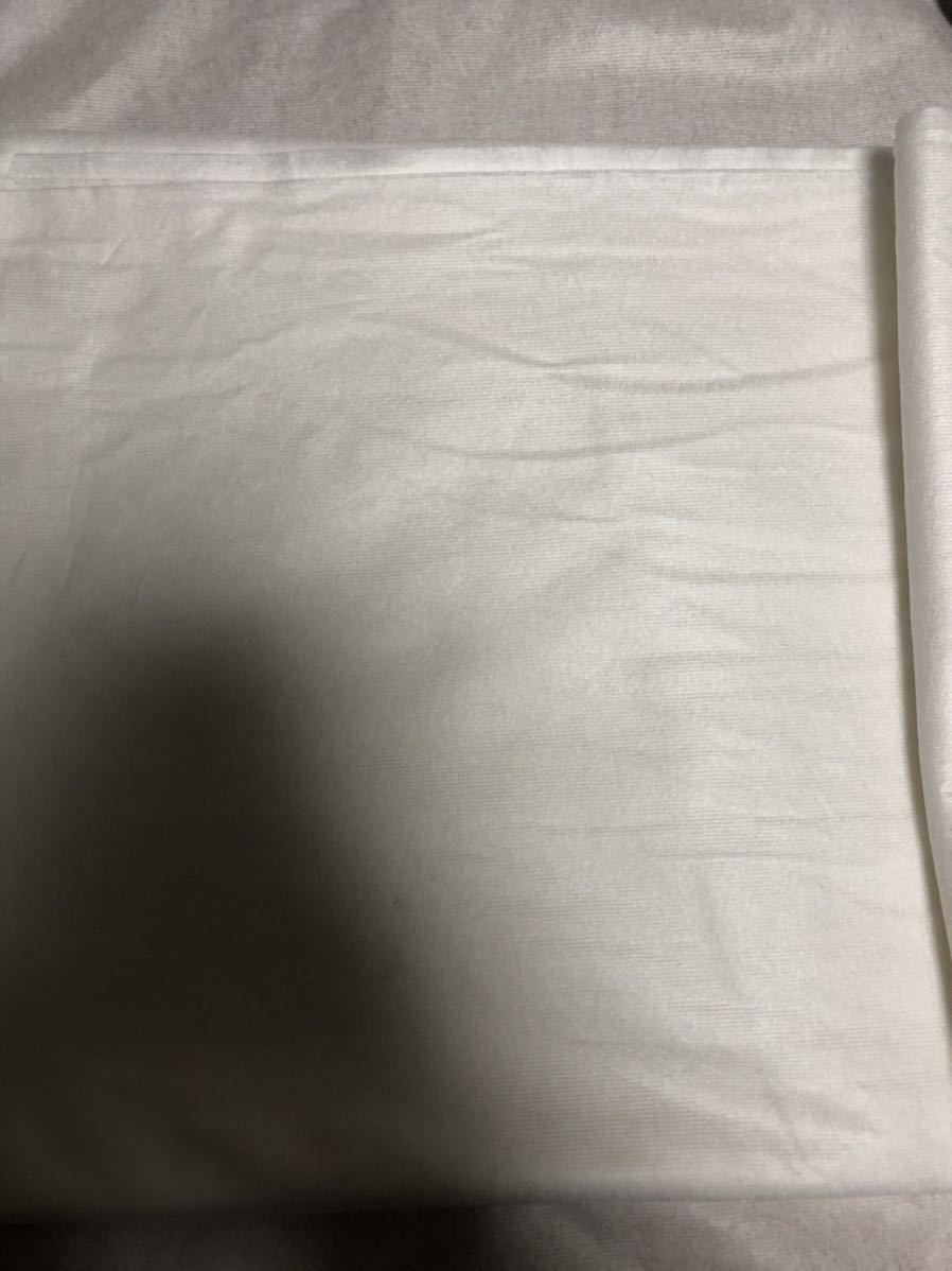 【送料無料】中判サイズ不織布シート 白色 1.0×2.4m★とりかえシート★インナーシート★マスクシート★フィルター★ハンドメイドマスク_画像3