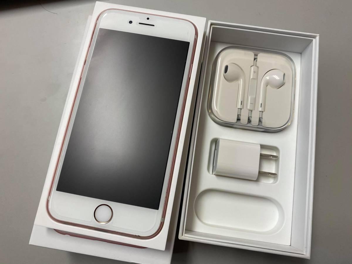 iPhone 6S SIMフリー 64GB ローズゴールド au版 SIMロック解除済み 一括購入 〇判定 ピンク_画像2