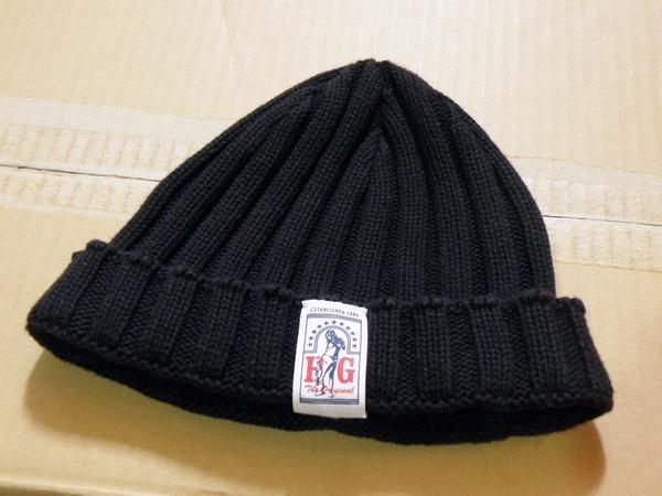 HYSTERIC GLAMOUR ニット帽 ブラック フリーサイズ ヒステリックグラマー 帽子 送料無料 送料込み