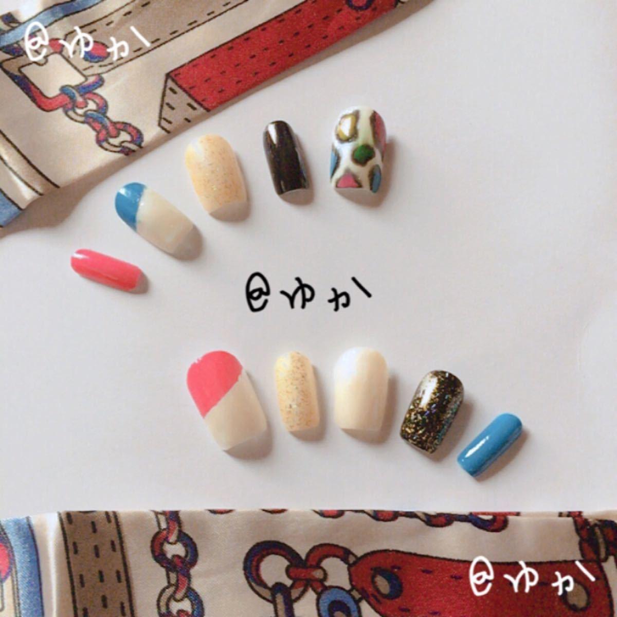 ネイルチップ☆ハンドメイド1