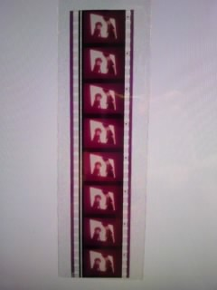希少 カットフィルム  劇場版「銀河鉄道999」メーテル&鉄郎 35㎜ 8コマ   松本零士_画像1