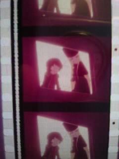 希少 カットフィルム  劇場版「銀河鉄道999」メーテル&鉄郎 35㎜ 8コマ   松本零士_画像2