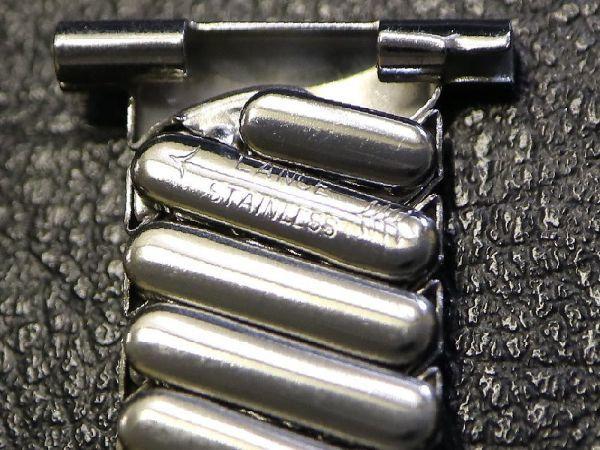 【19.0mm 】 デッドストック 1940'S ROYAL JB CHAMPION エクスパンション ベルト アンティーク 腕時計 バンド ブレス / ミリタリー BONKLIP_画像8