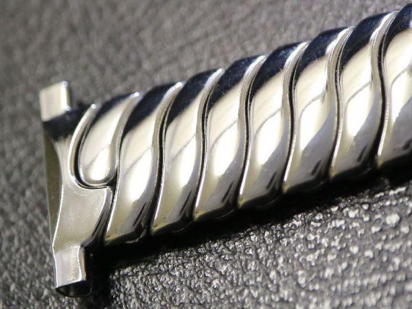 【19.0mm 】 デッドストック 1940'S ROYAL JB CHAMPION エクスパンション ベルト アンティーク 腕時計 バンド ブレス / ミリタリー BONKLIP_画像6