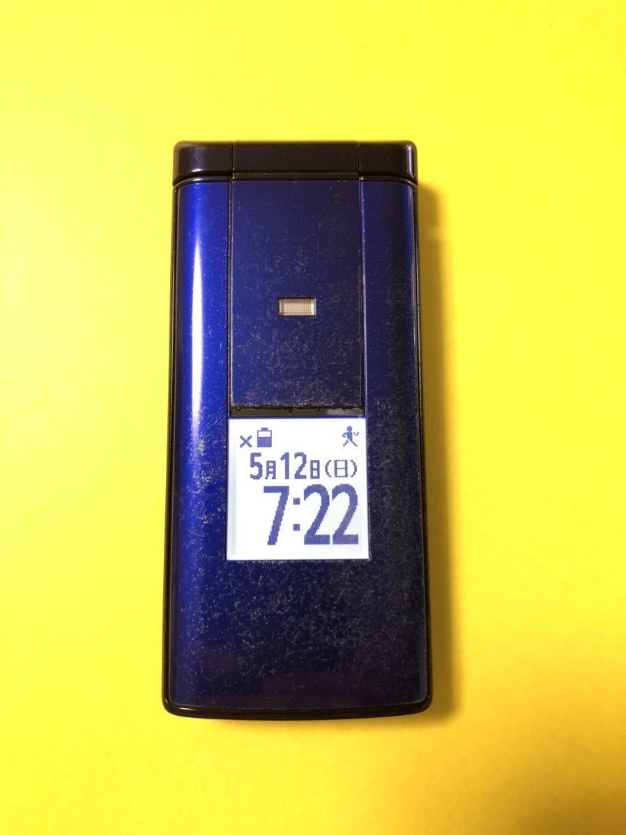 au KYF32 ブルー かんたんケータイ 京セラ ガラケー 108_画像2