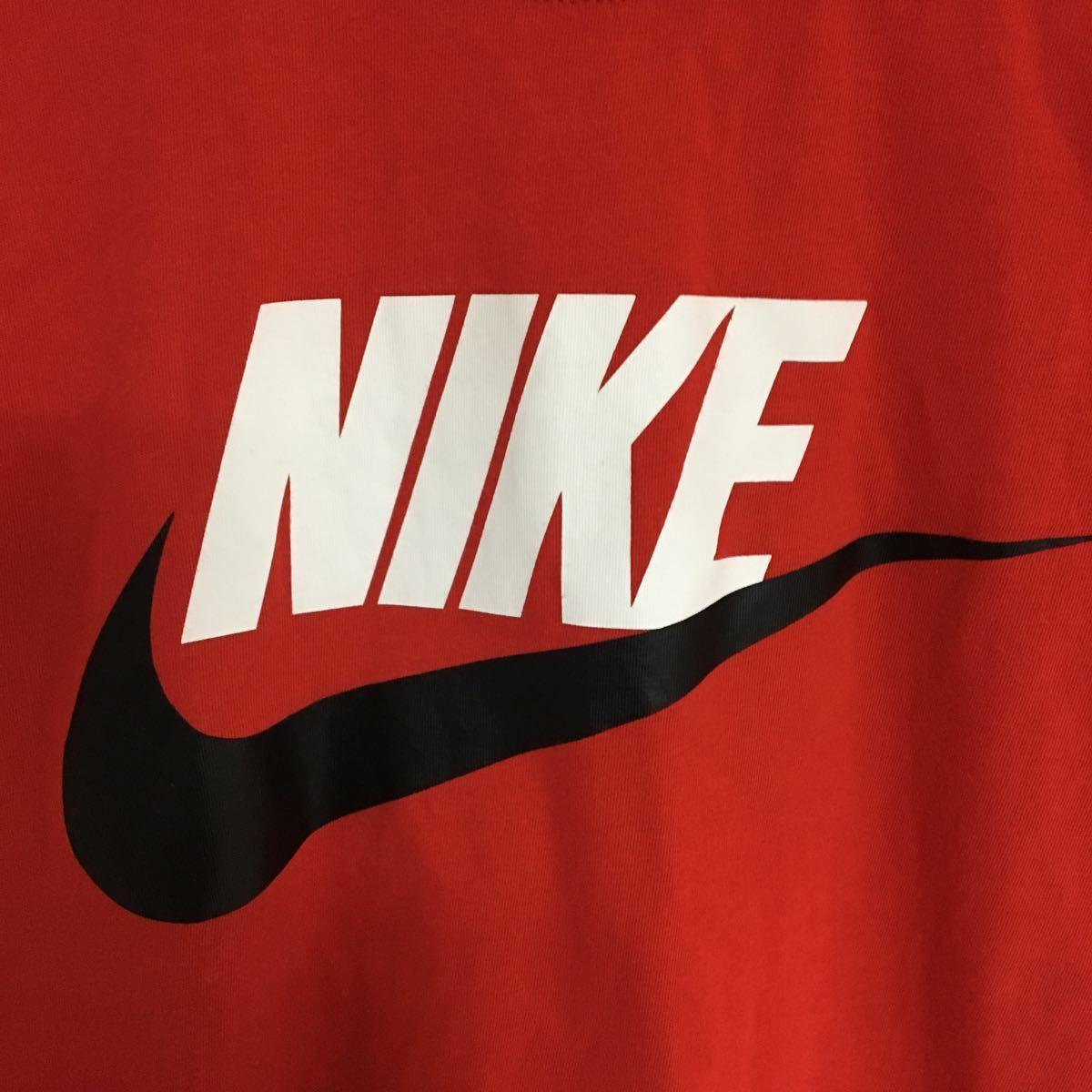 ナイキ NIKE Tシャツ 半袖シャツ ビッグロゴ Lサイズ ジム 筋トレ