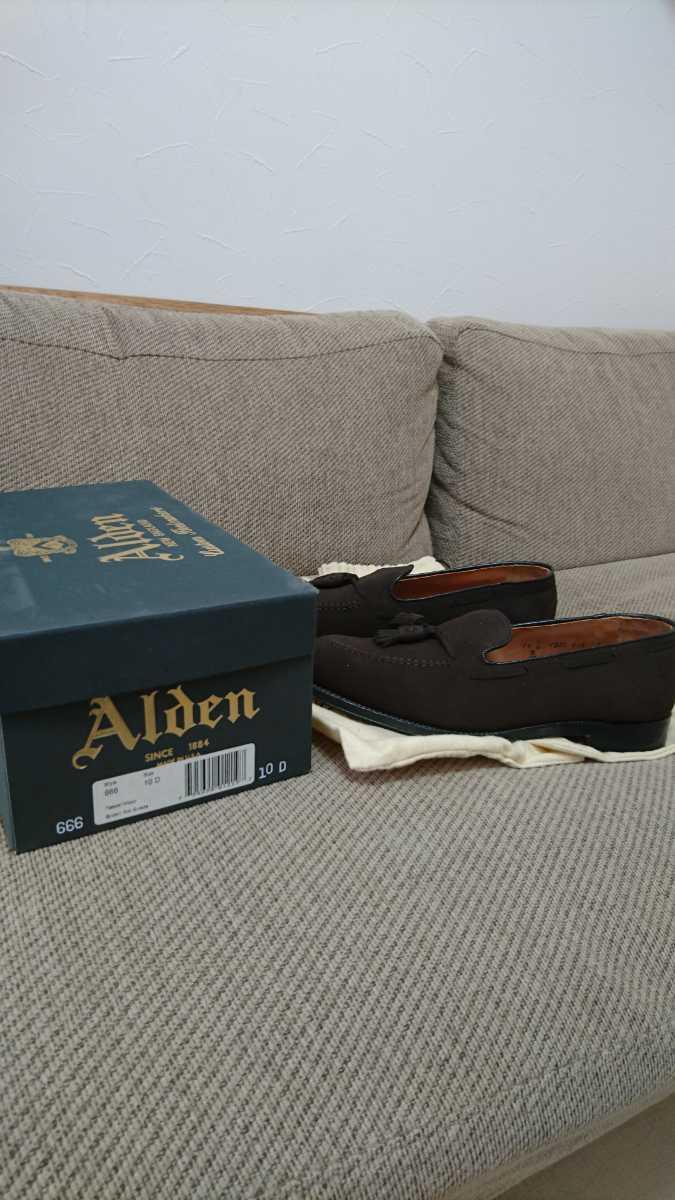 【新品】ALDEN タッセルローファー 純正シューツリー付き_画像9