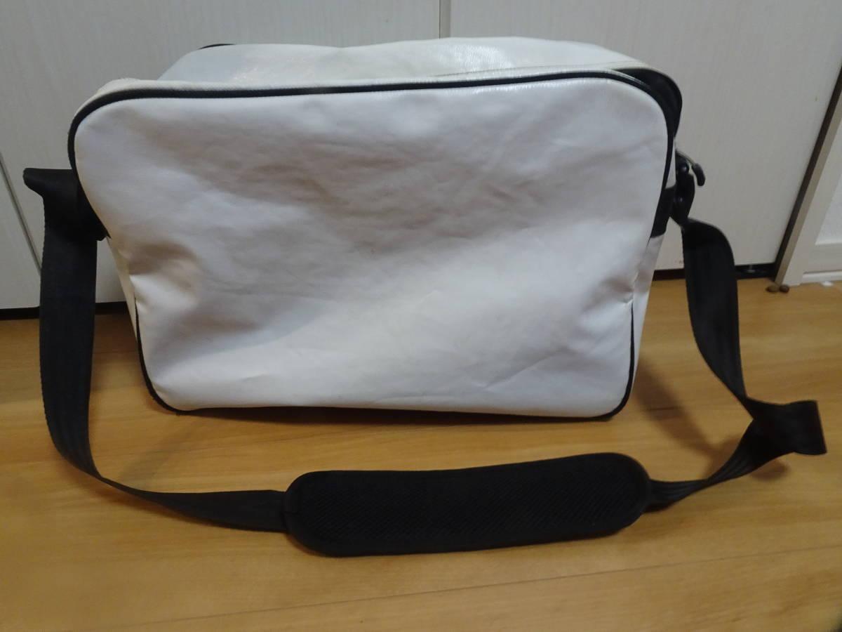 【鞄】アディダス バッグ Mサイズ ホワイト ピンク スポーツバッグ adidas ショルダーバッグ かばん_画像2