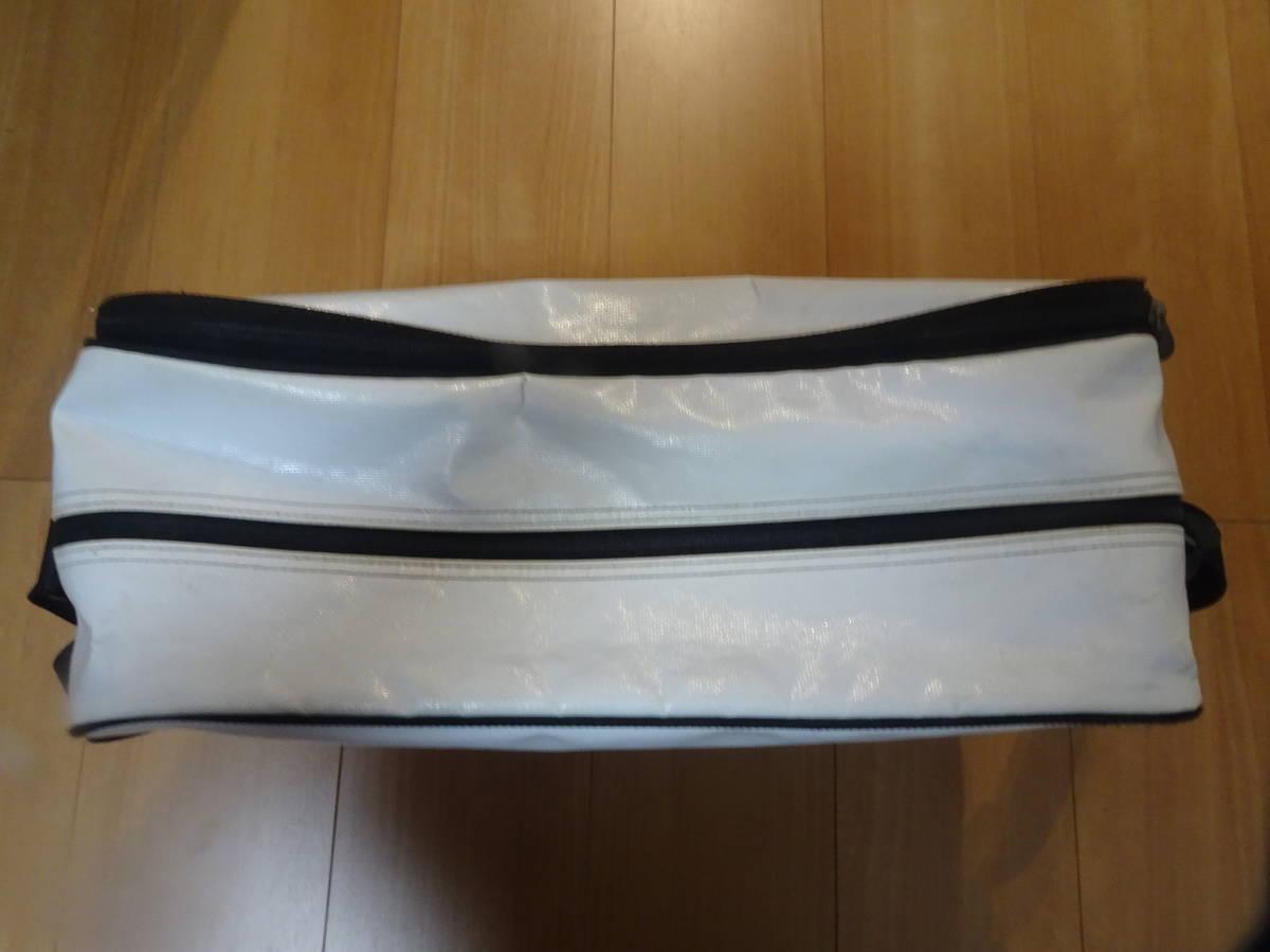 【鞄】アディダス バッグ Mサイズ ホワイト ピンク スポーツバッグ adidas ショルダーバッグ かばん_画像6