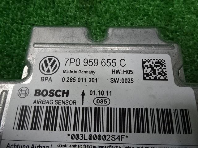 Porsche Cayenne 958*92AM5502* air bag computer (5)* immediately shipping