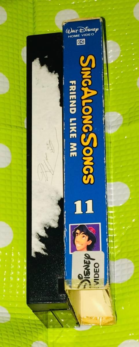 即決〈同梱歓迎〉VHS シング アロング ソング Vol.11 ディズニー アニメ 歌 音楽◎その他ビデオDVD多数出品中∞t421_画像4