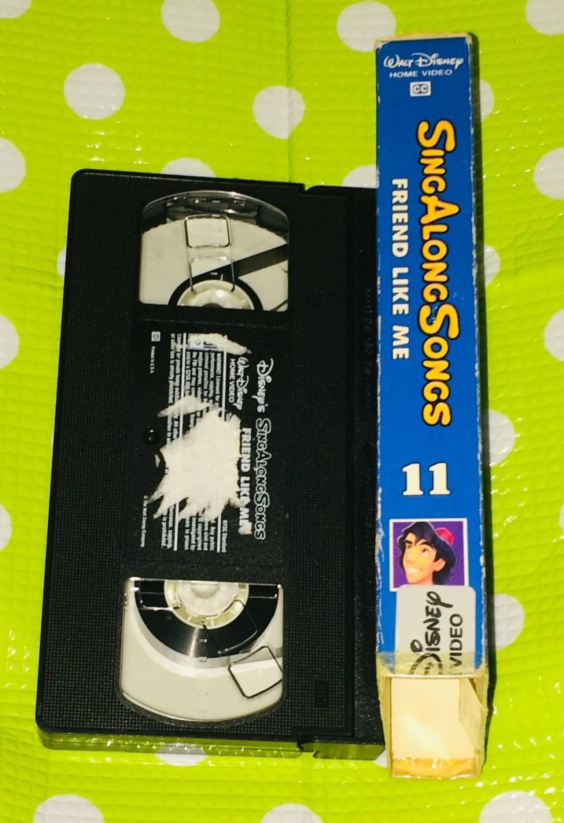 即決〈同梱歓迎〉VHS シング アロング ソング Vol.11 ディズニー アニメ 歌 音楽◎その他ビデオDVD多数出品中∞t421_画像3