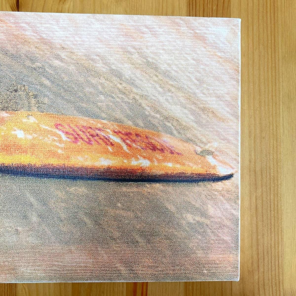 【新品】17 キャンバスアート ファブリックパネル アート 壁掛け サーフ ディスプレイ 海 Sea サーフィン HOME おうち時間 日本製 12/1