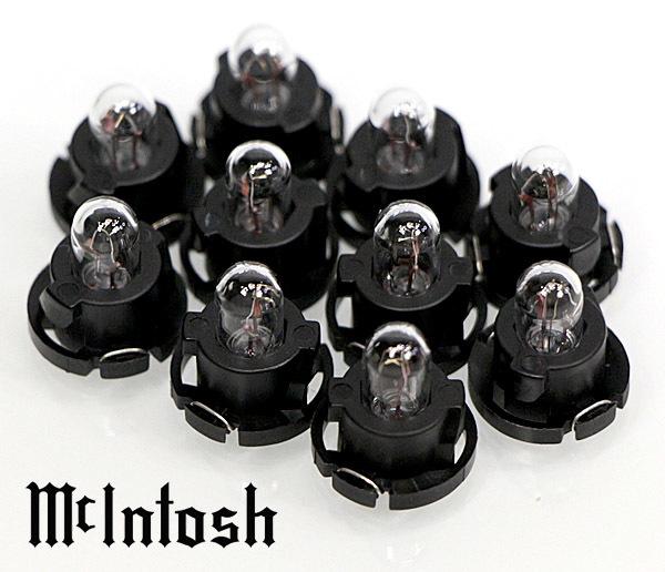 送料無料!McIntosh C200 フロントパネルランプ 10個 社外品@C41/C42/MA6900/MA6500 他