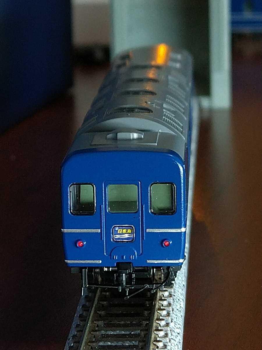 TOMIX トミックス 98280 24系25型 寝台特急 客車 日本海 西日本編成 基本セット カニ24-100 ライト点灯! セットバラシ品