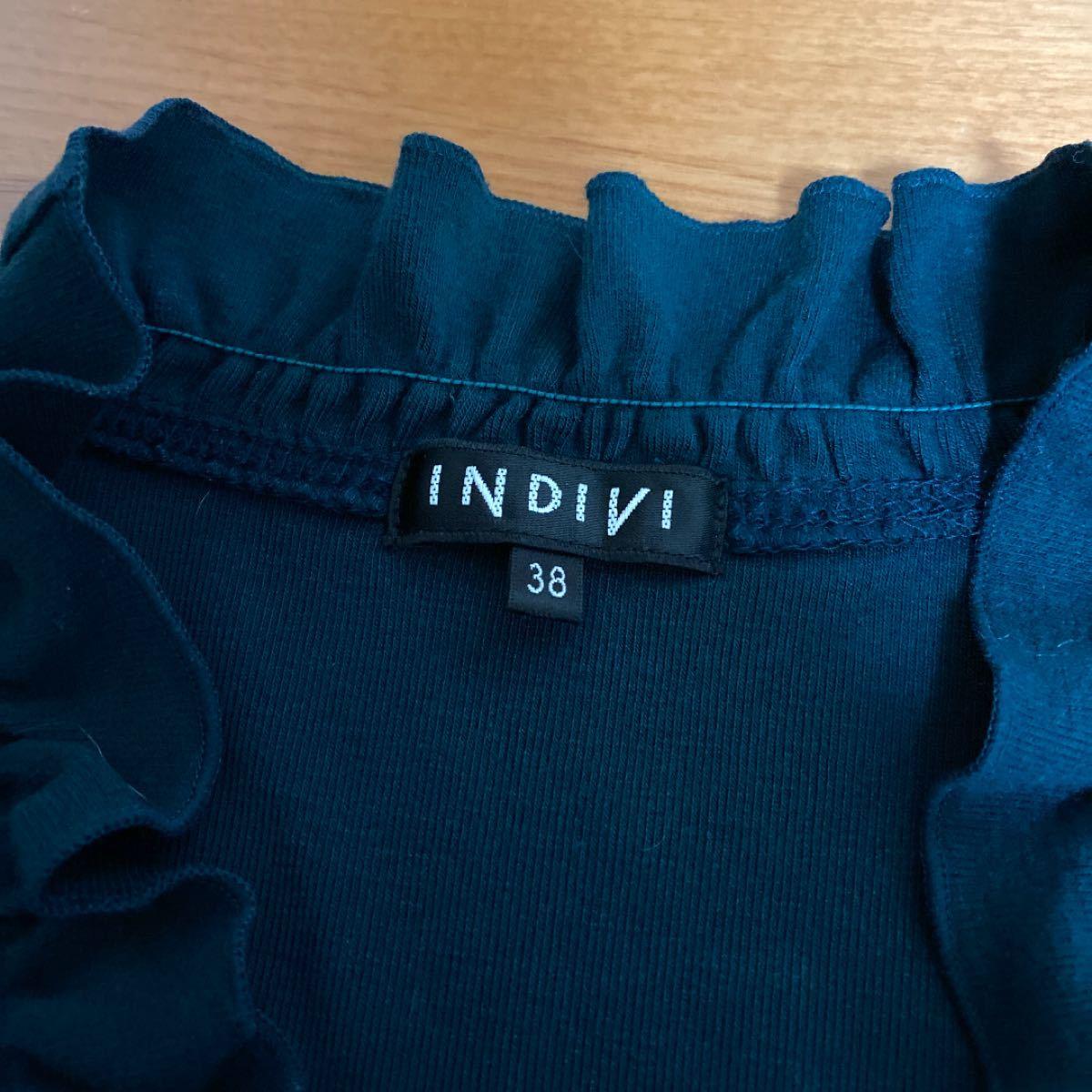 Indivi インディヴィ カットソー トップス 38