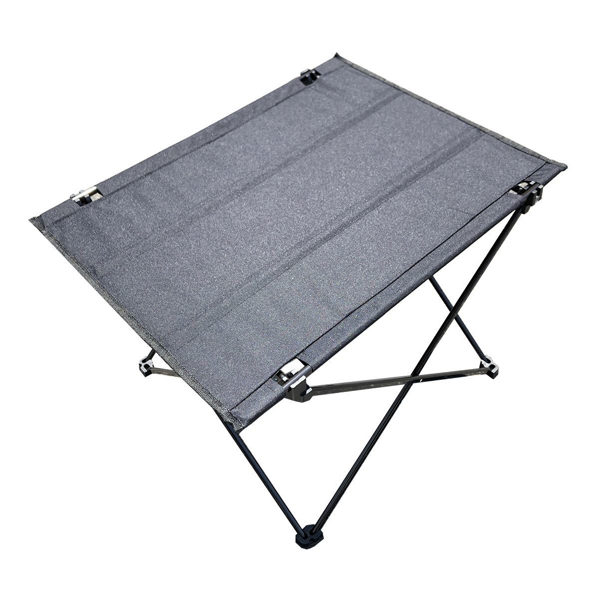アウトドア テーブル アルミテーブル 折りたたみ 軽量 防水 専用ケース付き