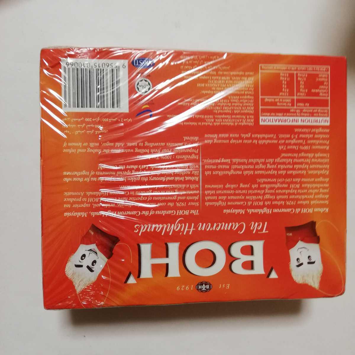 100個 ティーバッグ 食品 シンガポール お土産 紅茶 茶葉 BOH キャメロンハイランドティー