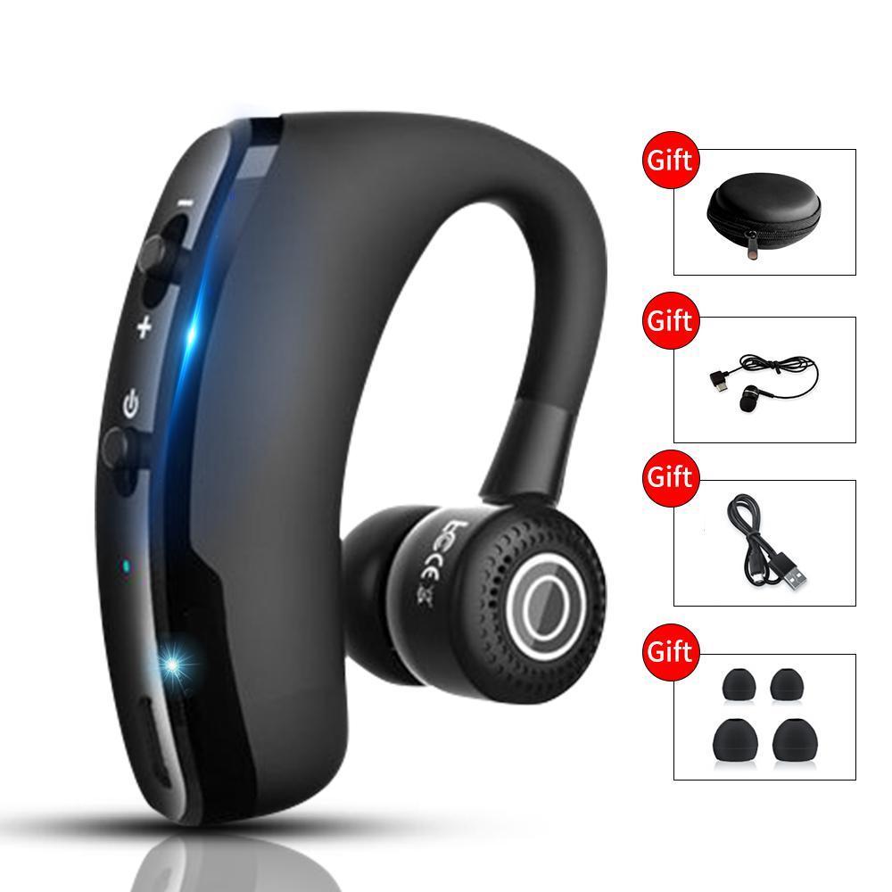 V9 新アップグレード Bluetooth 5.0 イヤホンワイヤレスヘッドフォン Blutooth イヤホンハンズフリーヘッドホンイヤゲーミングヘッドセッ_画像1
