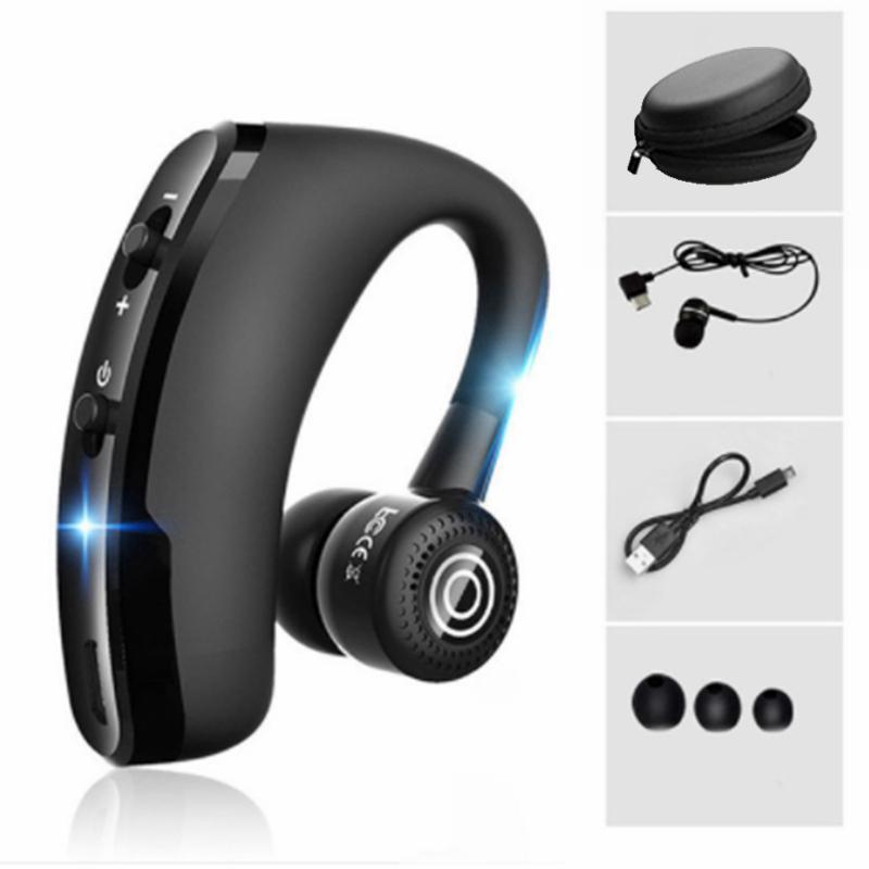 V9 新アップグレード Bluetooth 5.0 イヤホンワイヤレスヘッドフォン Blutooth イヤホンハンズフリーヘッドホンイヤゲーミングヘッドセッ_画像2