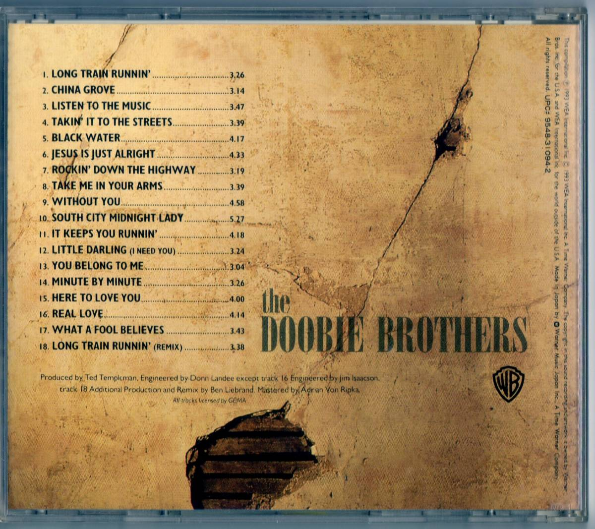 CD★国内盤★ドゥービーブラザーズ★The Very Best of The DOOBIE BROTHERS / LISTEN TO THE MUSIC他 _画像2