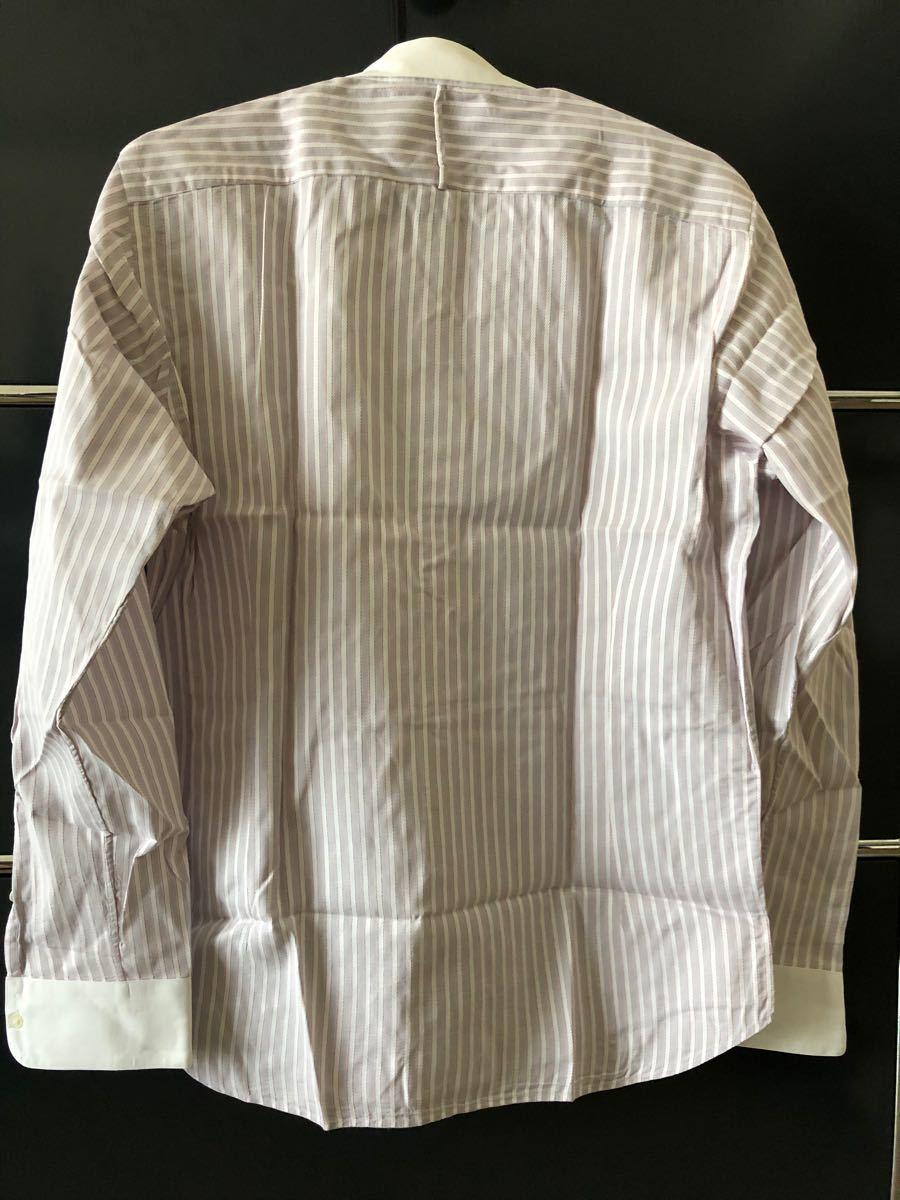 EDIFICE  メンズ ワイシャツ ストライプシャツ