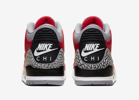 "売り切り!日本未発売!28㎝!US10!送料無料!NIKE AIR JORDAN 3 RETRO ""CHI""Chicago Exclusive OG 1 2 3 4 5 6 7 8 9 10 11 FIRE RED"