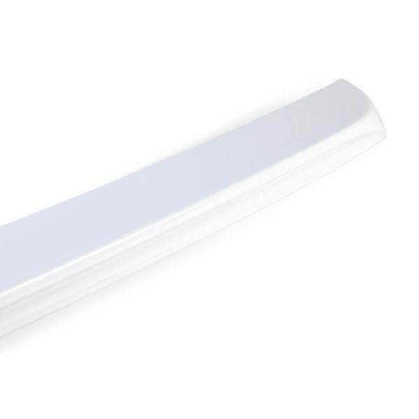 純正色塗装 ABS製 トランクスポイラー メルセデスベンツ W204 C204用 クーペ Aタイプ 両面テープ取付 カラーコード:650 MTS-27175_画像3