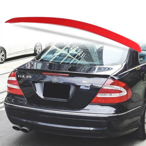 カスタム塗装 ABS製 トランクスポイラー メルセデスベンツ CLKクラス W209用 クーペ Aタイプ リアスポイラー カラーコード指定 MTS-27171_画像1