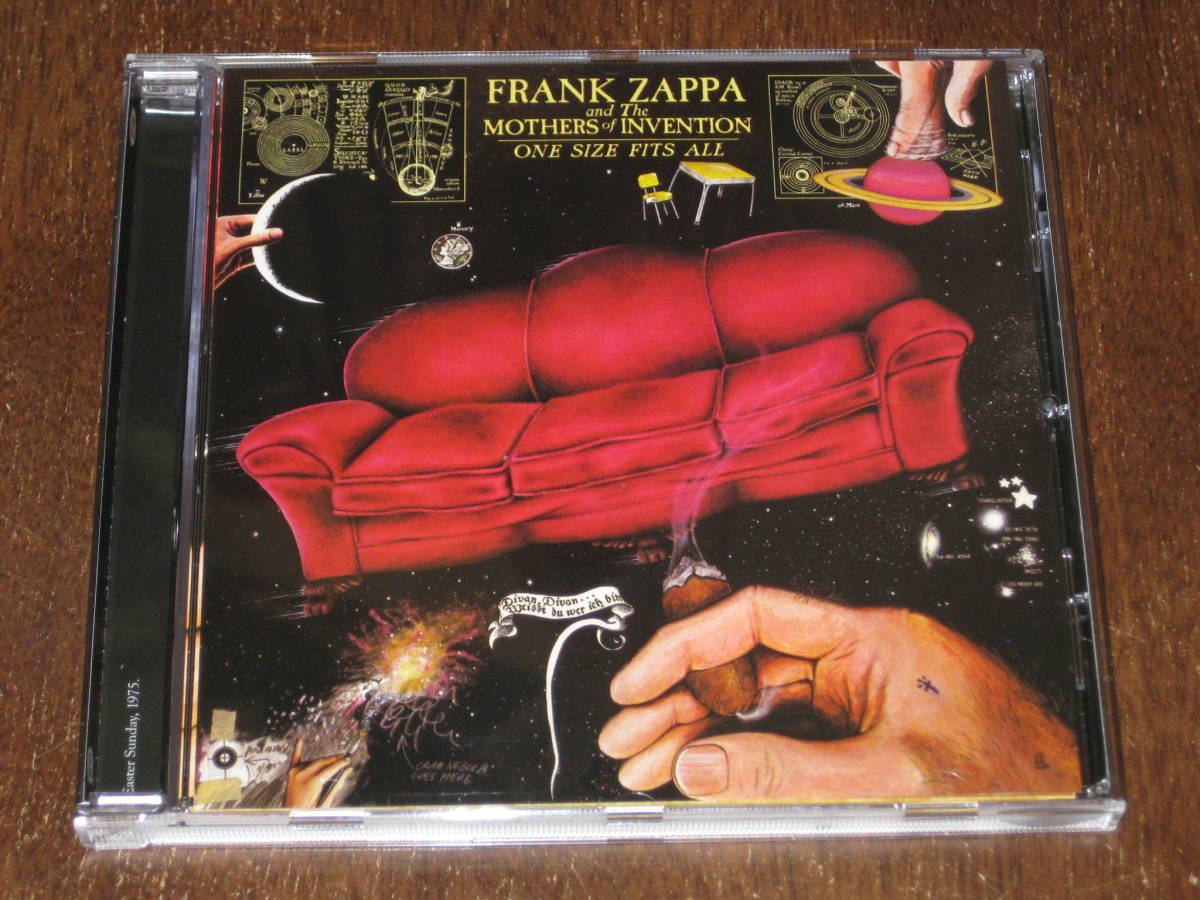 FRANK ZAPPA フランク・ザッパ / ONE SIZE FITS ALL ワン・サイズ・フィッツ・オール 輸入盤 ほぼ新品