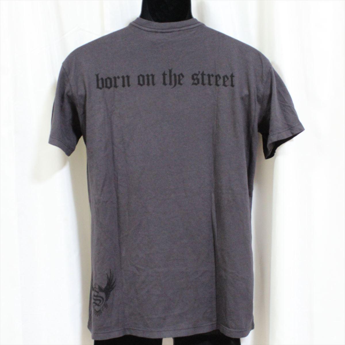 スメット SMET メンズ半袖Tシャツ チャコール Sサイズ NO2 新品_画像3