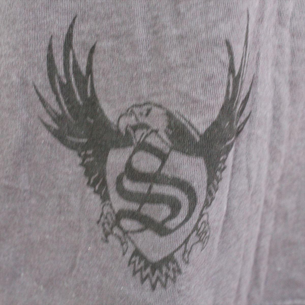 スメット SMET メンズ半袖Tシャツ チャコール Sサイズ NO2 新品_画像4