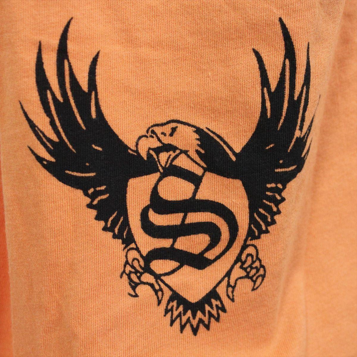 スメット SMET メンズ半袖Tシャツ オレンジ Lサイズ NO3 新品_画像4