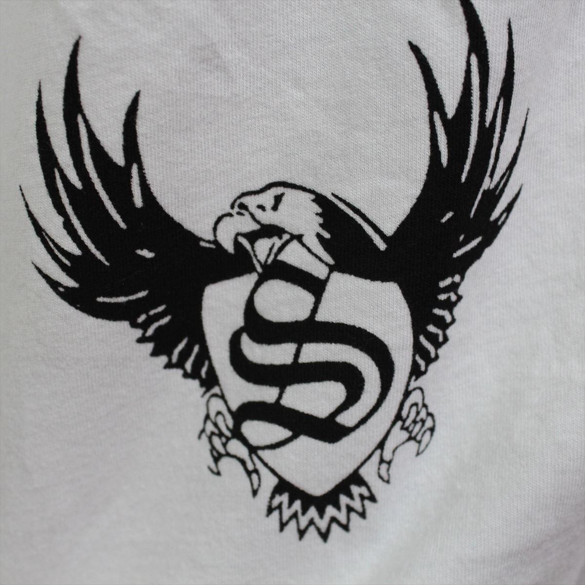 スメット SMET メンズ半袖Tシャツ ホワイト Mサイズ NO4 新品_画像4