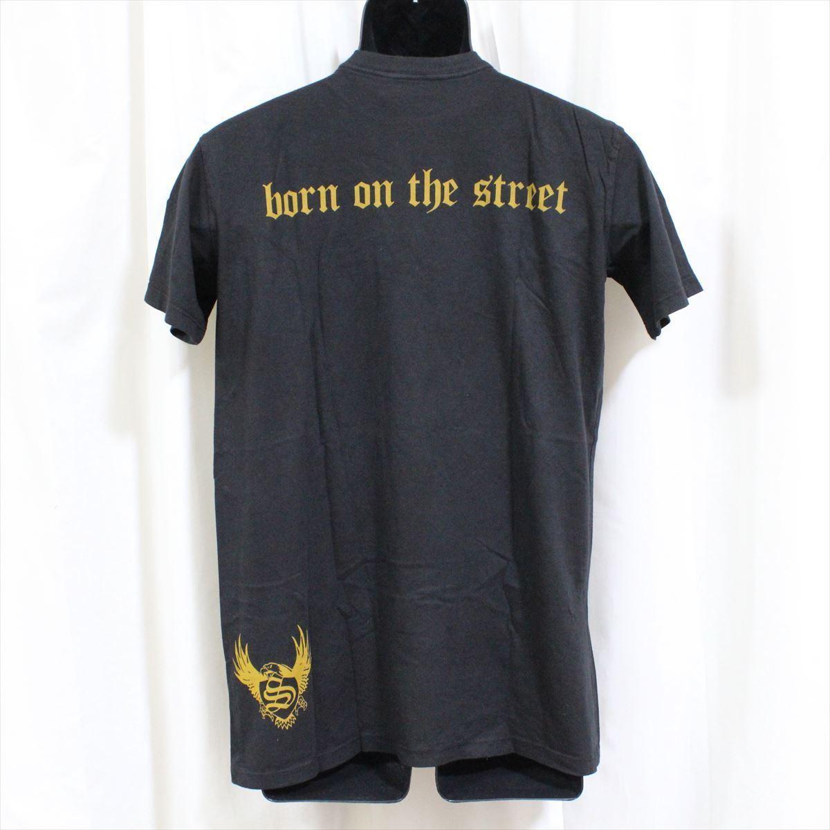 スメット SMET メンズ半袖Tシャツ Mサイズ ブラック NO6 新品 黒_画像4