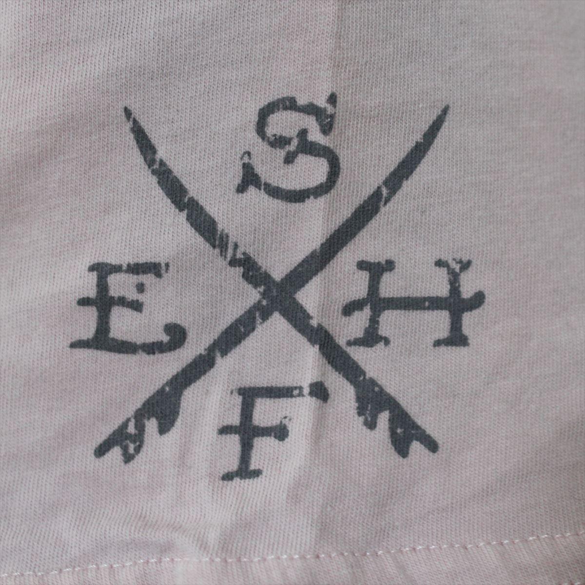 エドハーディー ED HARDY メンズ半袖Tシャツ ピンク Lサイズ NO71 新品_画像3