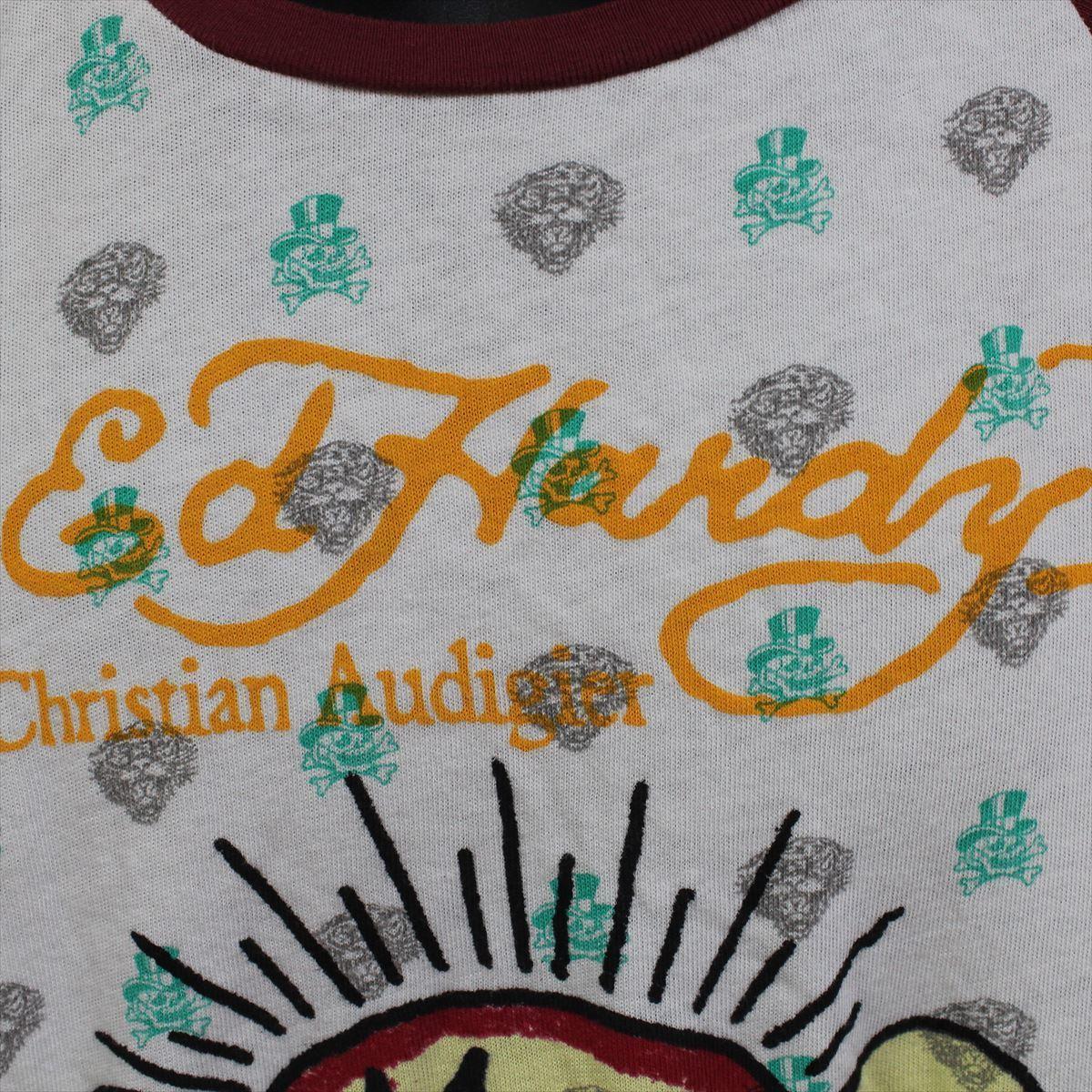 エドハーディー ED HARDY メンズ長袖Tシャツ Mサイズ NO74 新品_画像3