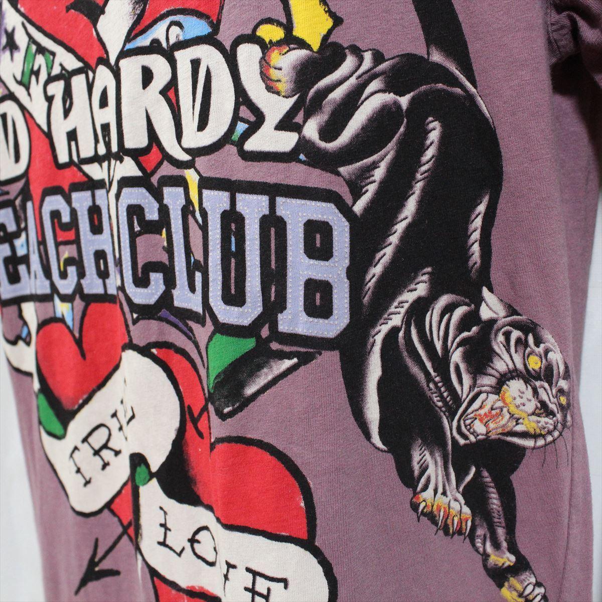 エドハーディー ED HARDY メンズ半袖Tシャツ Sサイズ 新品 TRUE LOVE_画像3