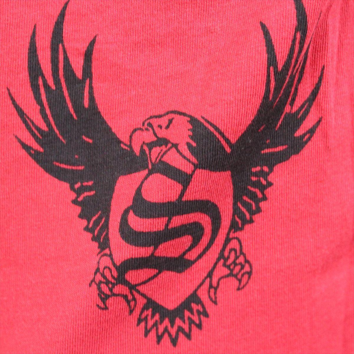 スメット SMET メンズ半袖Tシャツ レッド Sサイズ NO10 新品 赤 スカル_画像5