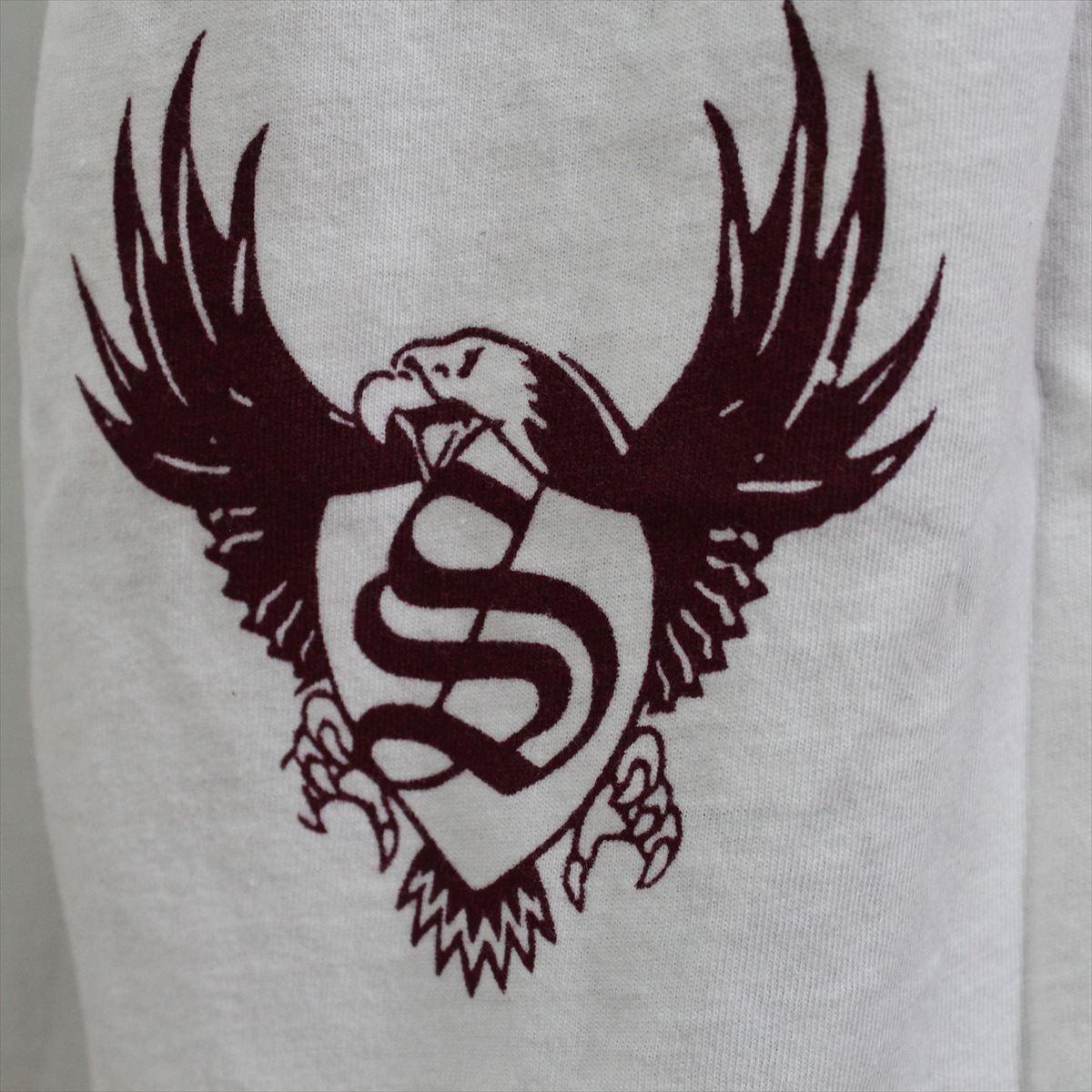 スメット SMET メンズ半袖Tシャツ ホワイト Lサイズ NO11 新品 白 スカル_画像5