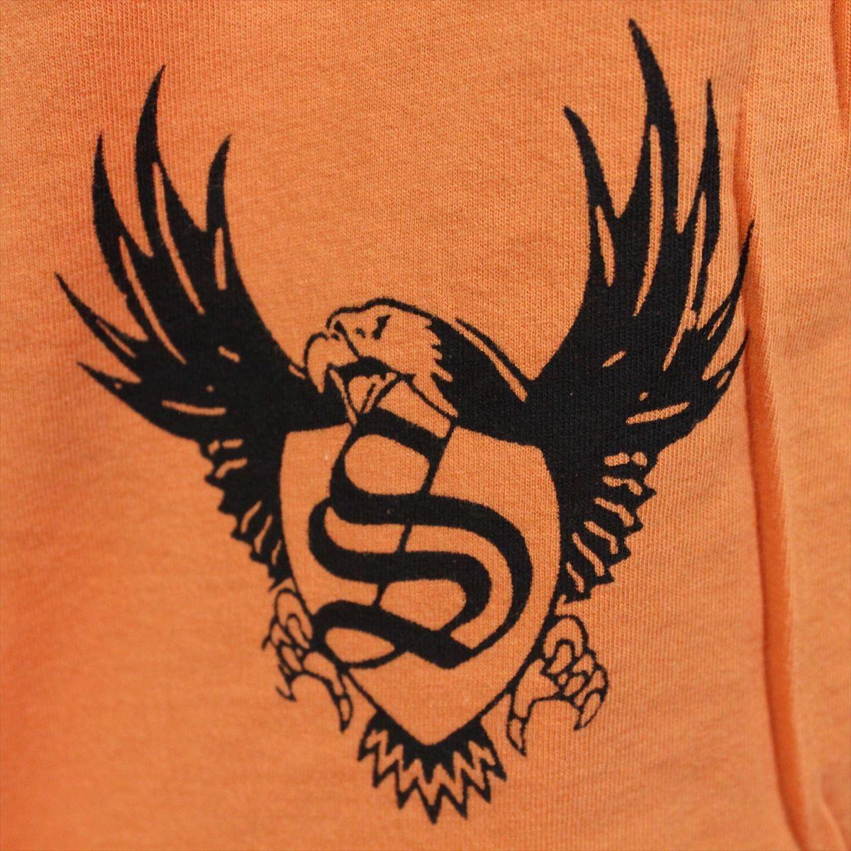 スメット SMET メンズ半袖Tシャツ オレンジ Mサイズ NO12 新品 スカル_画像4