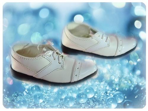 ●SD13/SD16/SD17男の子用フォーマルドールシューズ*ホワイト●ドール靴の内寸:縦9.0cm 横3.5cm●_画像2