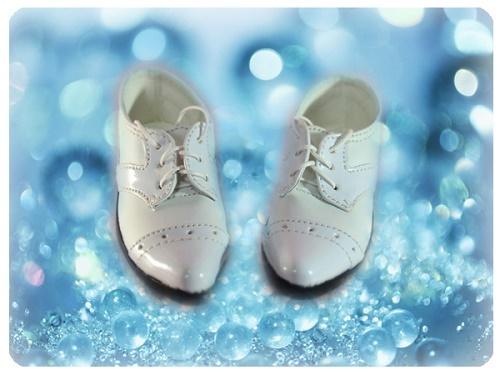 ●SD13/SD16/SD17男の子用フォーマルドールシューズ*ホワイト●ドール靴の内寸:縦9.0cm 横3.5cm●_画像3