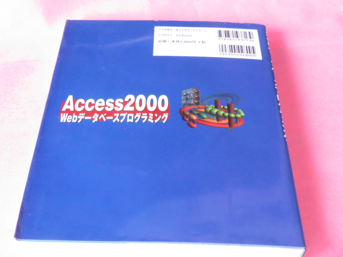 Access2000 Webデータベースプログラミング CD-ROM付き 単行本  河野 春夫 (著) 状態 非常に良い 送料無料 定価2,800+税_画像7