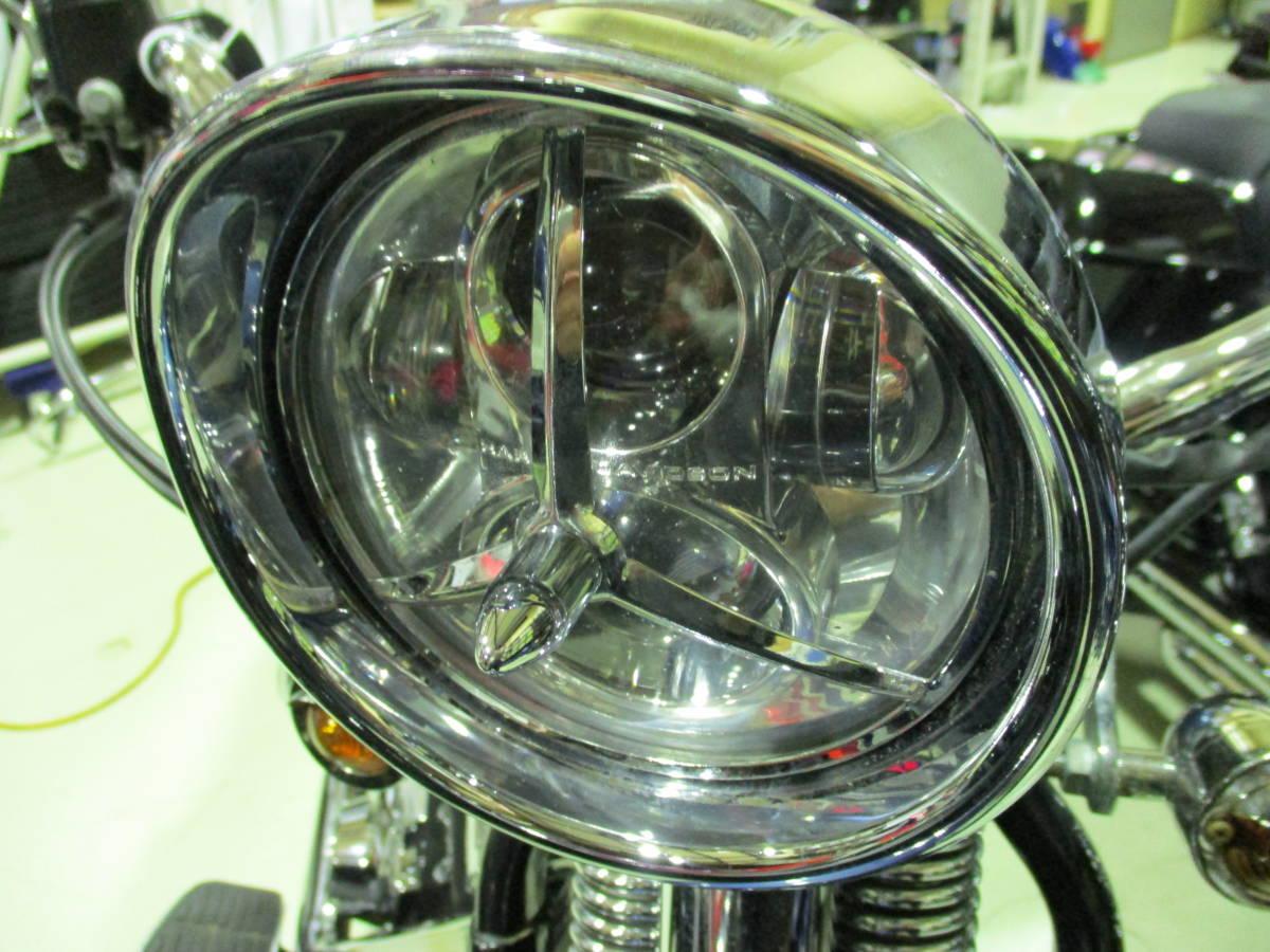 スプリンガークラシック FLSTSC1450 キャブ フィッシュテール LEDヘッドライト チョロスタイルや FLSTS FLSTSBお探しの方にも_画像4