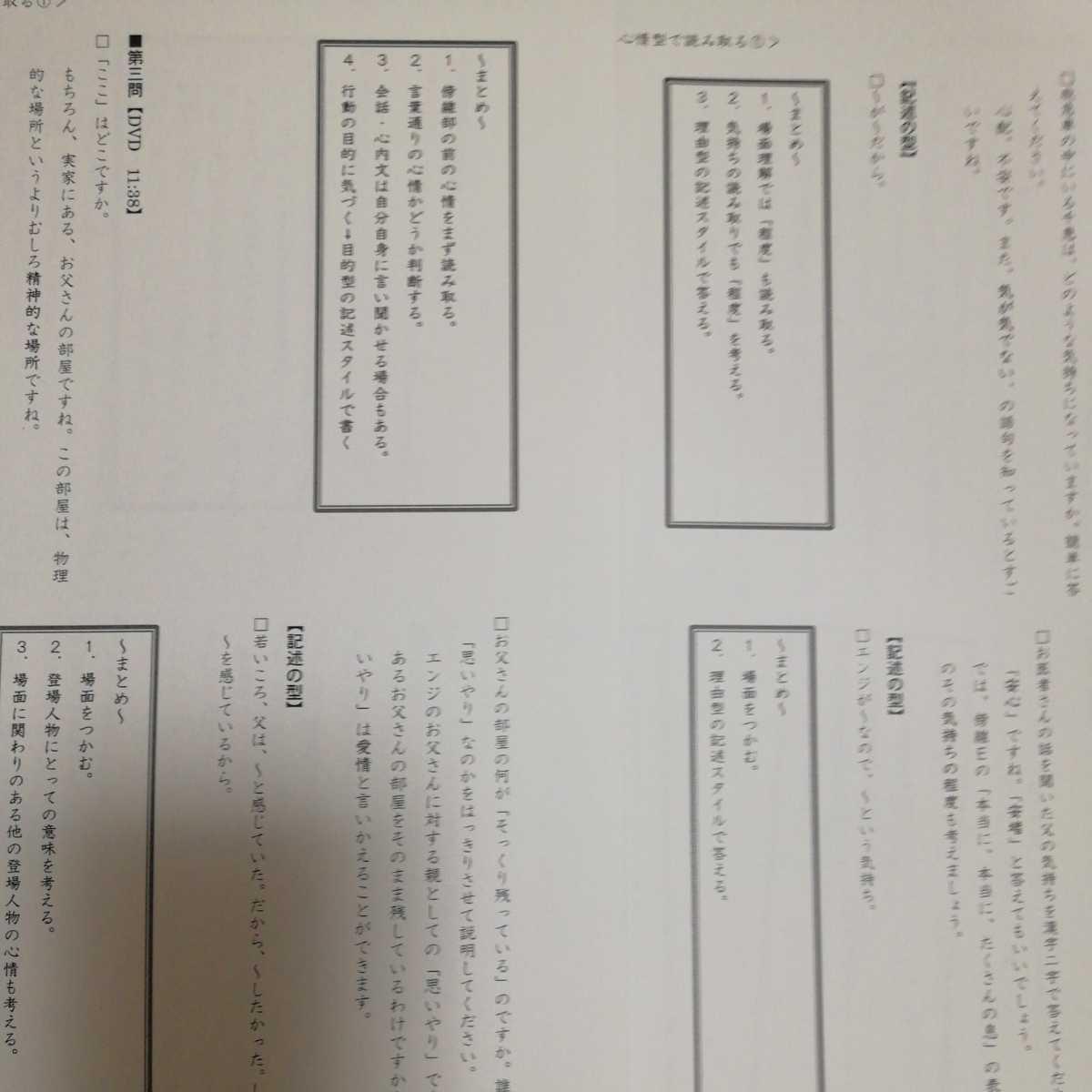 送料込 即決 DVD1-8巻 中学受験 小学生 小学国語 知力の背骨 最短構築プログラム プロ家庭教師 西村則康先生