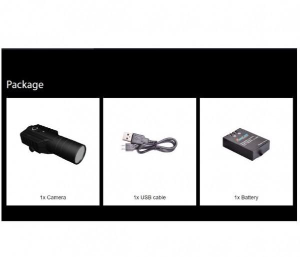 送料無料【2020年モデル】【日本サバゲー専用】レンズ:25mm【大容量バッテリ】遠望型ガンカメラ RunCam Scope Cam Lite  50mまで$*_画像2
