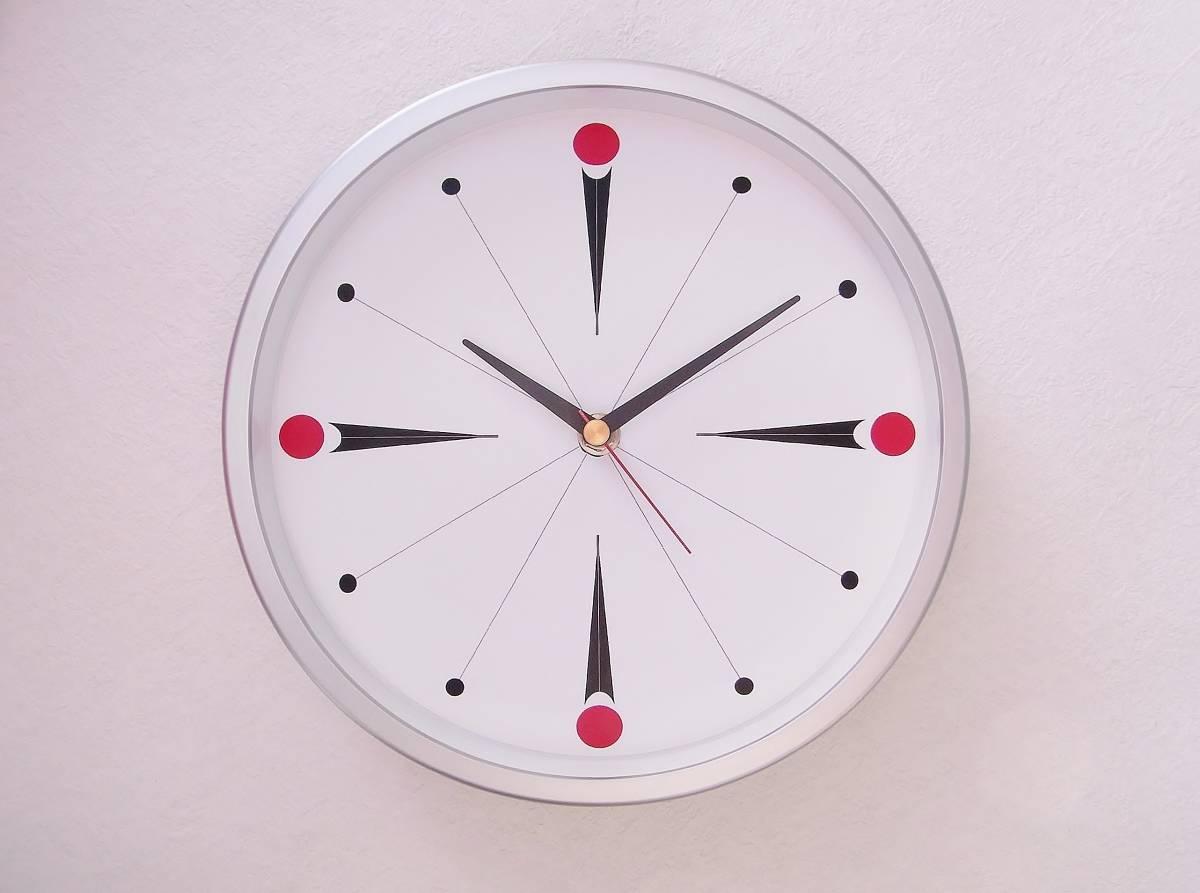 【新品送料無料】TOKYO CLOCK シンプル掛け時計【torpe トルぺ】_画像1