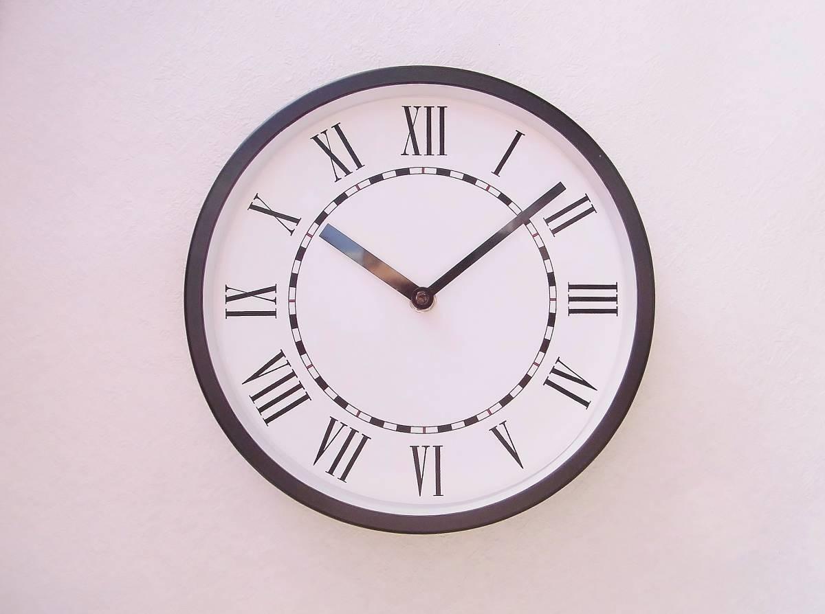 【新品送料無料】TOKYO CLOCK シンプル掛け時計【solitus ソリトゥス】_画像1