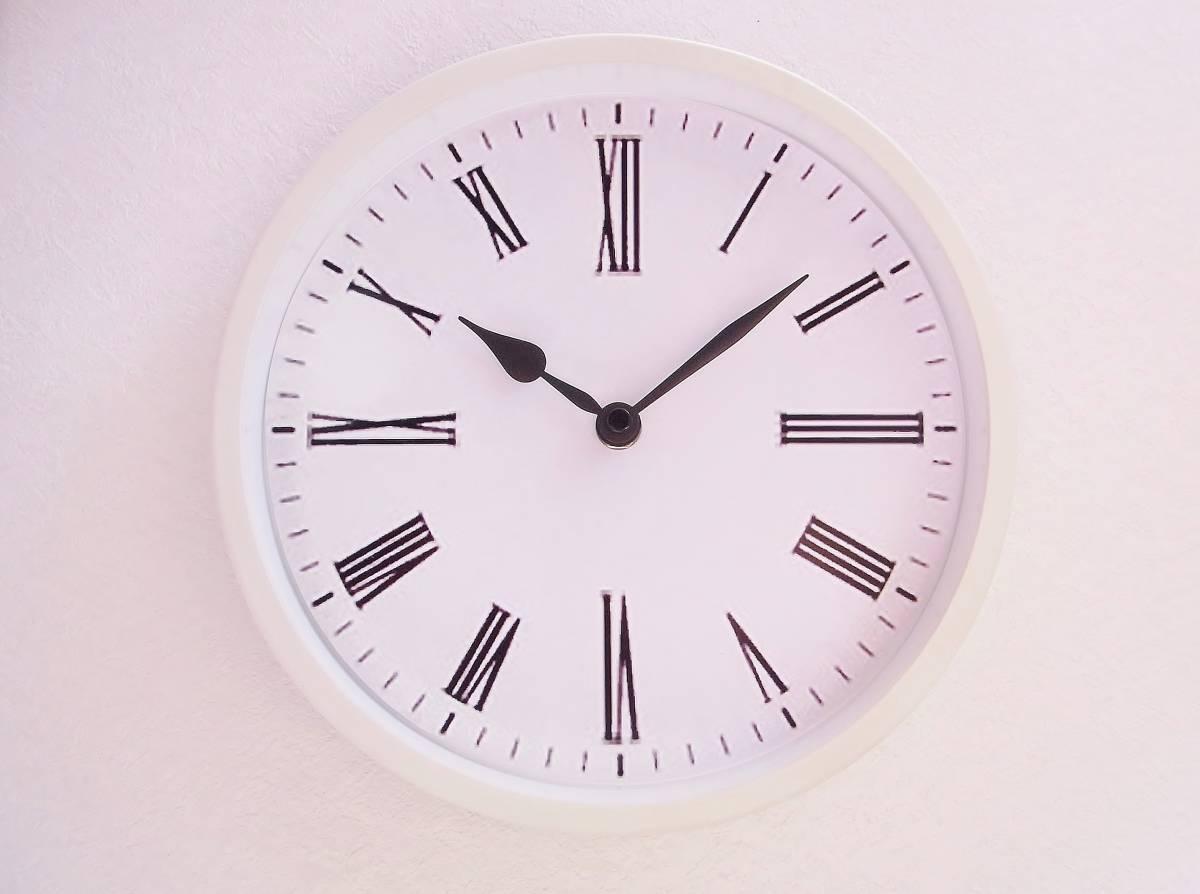 【新品送料無料】TOKYO CLOCK シンプル掛け時計【ratio ラティオ】_画像1